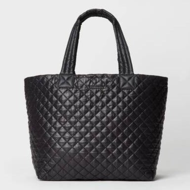 MZ Wallace - Large Metro Tote Deluxe (Quilted Black)