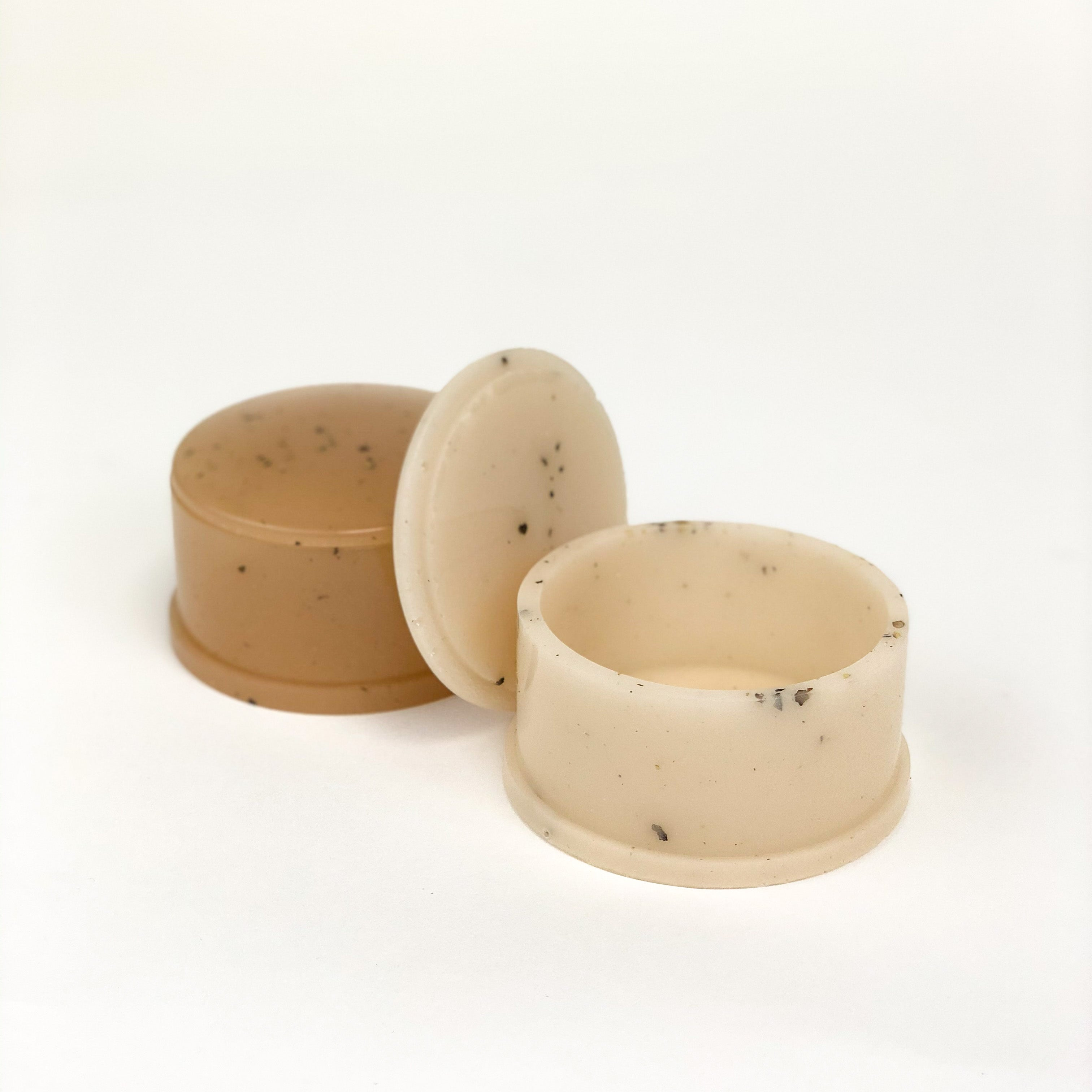 Whiskey + Wine - Speckled Cream Circle Box