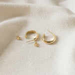 Merewif - Jane Hoops (Gold)