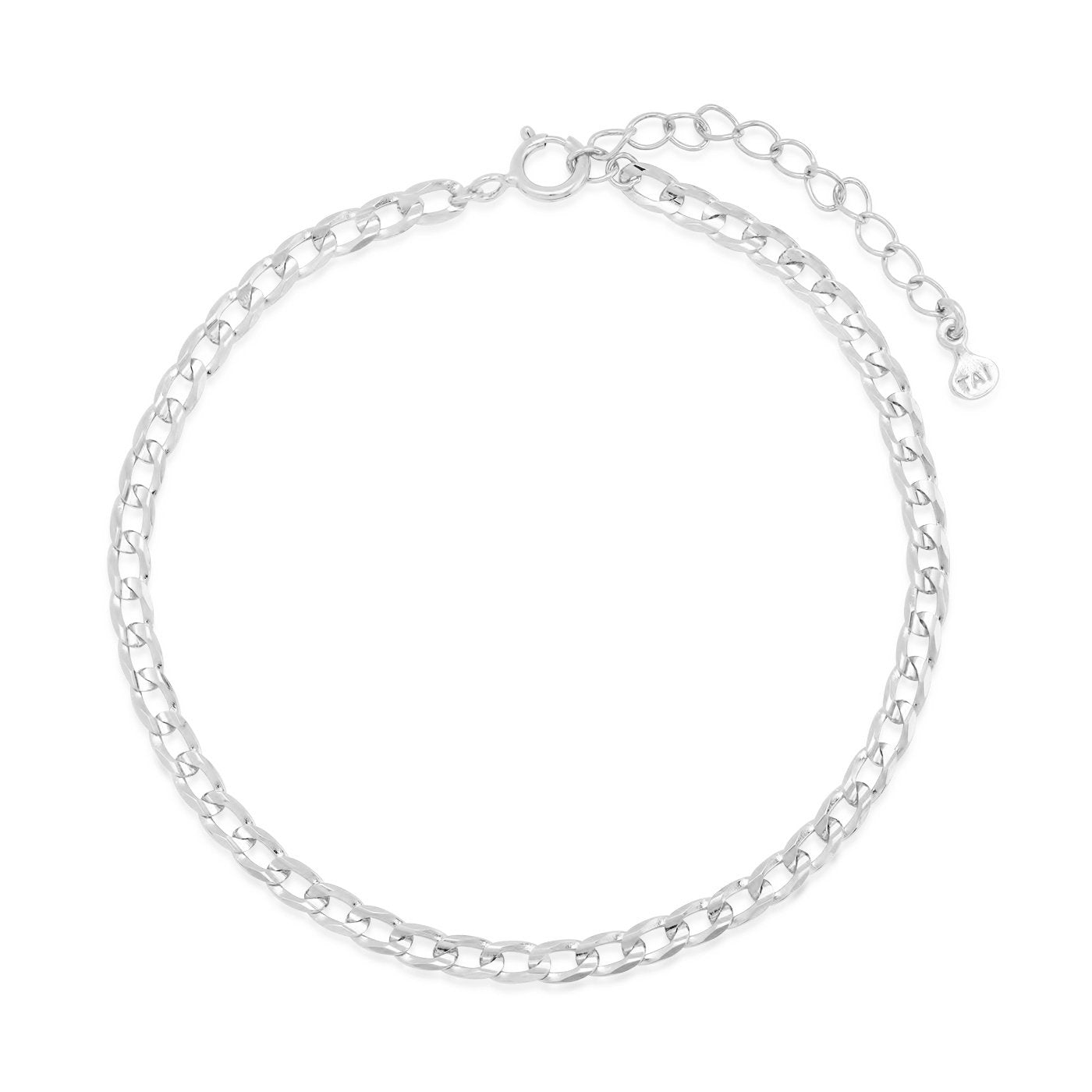 Tai - Braided Chain Bracelet (silver)