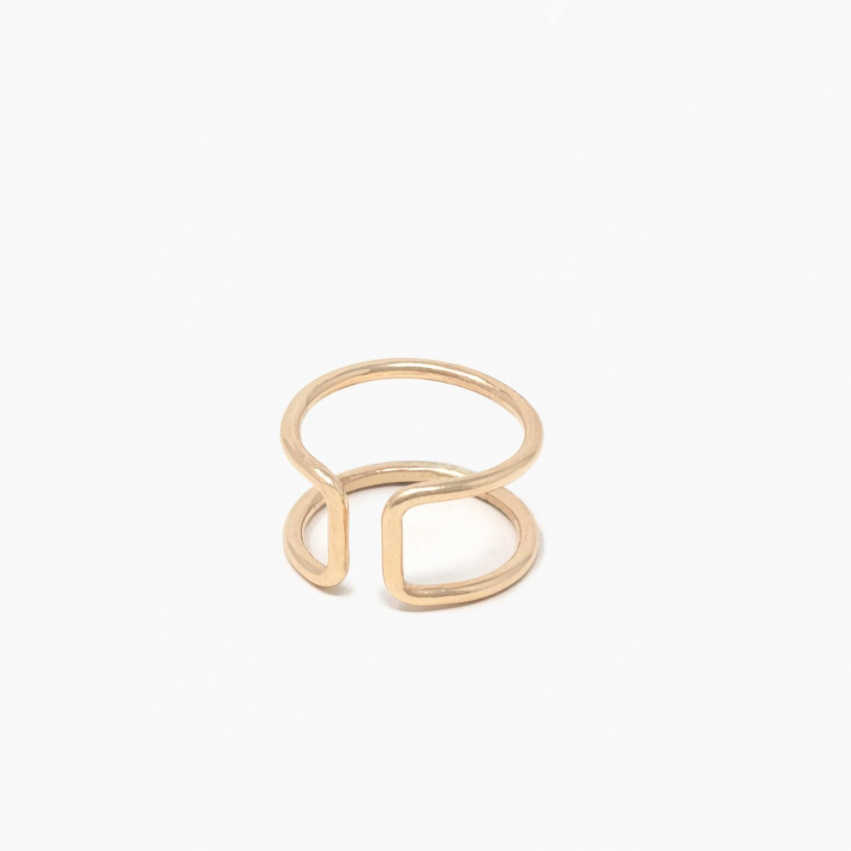 ABLE - New Cuff Ring (Gold)