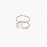 ABLE - New Cuff Ring (Silver)