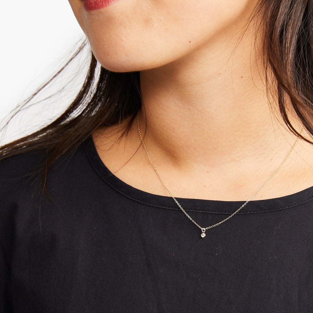Able - Stella Drop Necklace (Gold)
