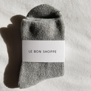 Le Bon Shoppe - Cloud socks (heather grey)