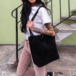 ShilShol - Casey Bag (Black Suede)