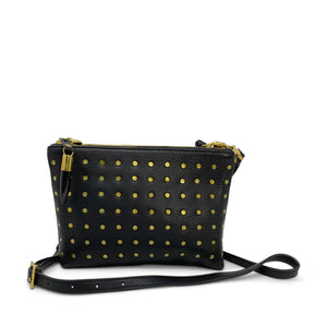 Kempton & Co. - Brass Stud Notthingham Crossbody