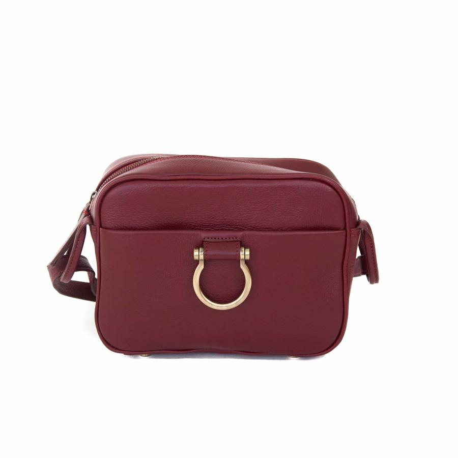 Sapahn - Jori Crossbody (Deep Red)