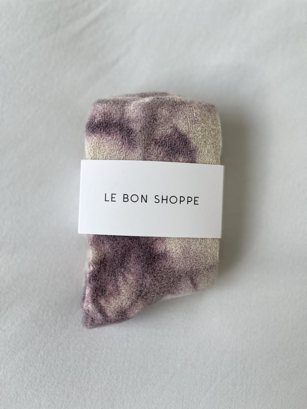 Le Bon Shoppe - Cloud socks (Tie Dye Mauve)