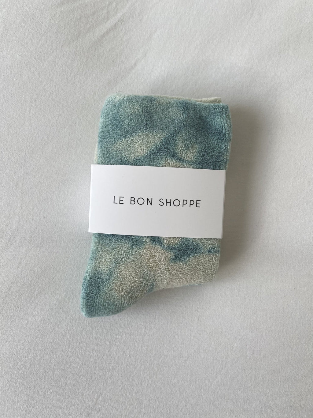 Le Bon Shoppe - Cloud socks (Tie Dye Sky)