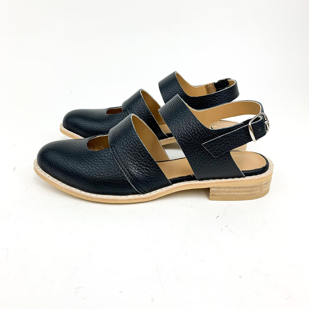 All Black - Cowman Sandal