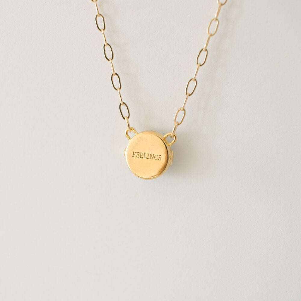 Merewif - Feelings Necklace (Gold)