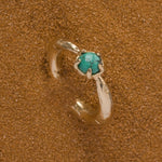 Merewif - PERILUNE RING (Turquoise + Gold)