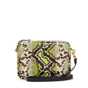 Clare V. - Midi Sac (yellow riveria snake)