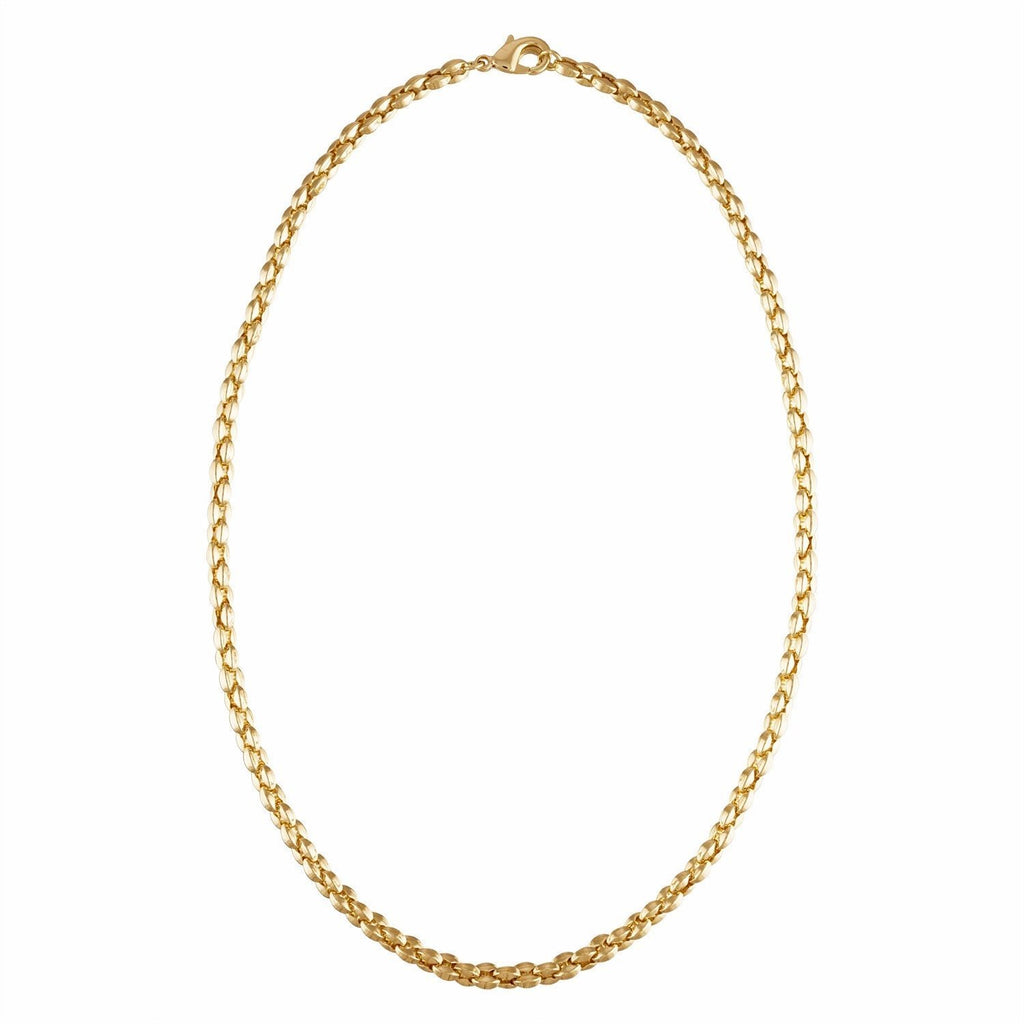 Machete - Nautical Bead Chain Necklace (Gold)