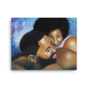 Ahava  (Canvas print)  The name Ahava means Love and is of Hebrew origin.