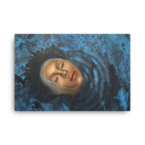 Reflection Of Peace Canvas Print