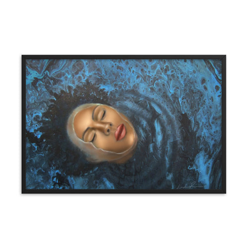 reflection Of Peace Framed Print