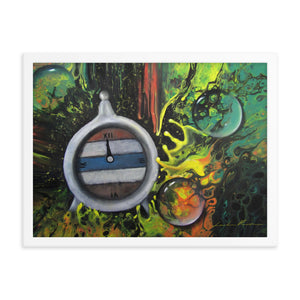 The Twelfth Hour Framed Print