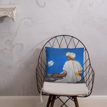 Load image into Gallery viewer, Mount Zion Painting On A Pillow