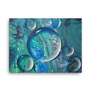 Eternal Drops Of Life - Canvas Print