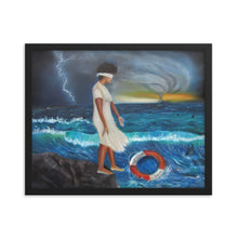 Load image into Gallery viewer, Stepping Out On Faith -Framed Print