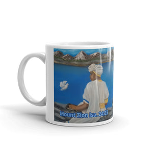 Mount Zion- Painting On A Mug
