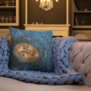 Reflection of Peace - Premium Pillow