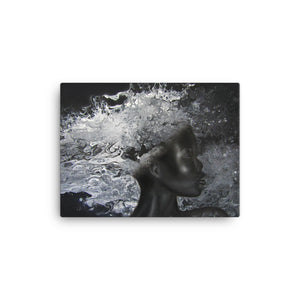 Melanin Is Power- Canvas Print