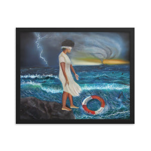 The Test Of Faith- Framed Print