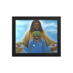 The Protector -Framed Print
