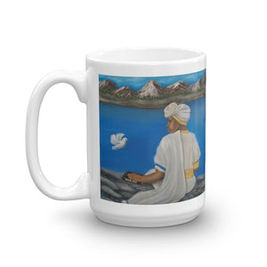 Mount Zion - Painting on a Mug