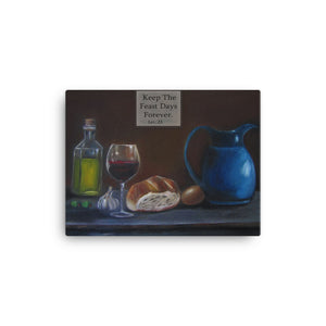 Holy Feast Days- Canvas Print