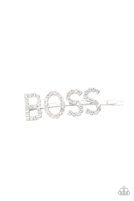 Yas Boss! - White
