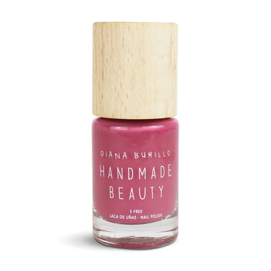 Handmade Beauty Toxic Free, Nail Polish, Color Almond - HANDMADE BEAUTY COSMETICS LLC