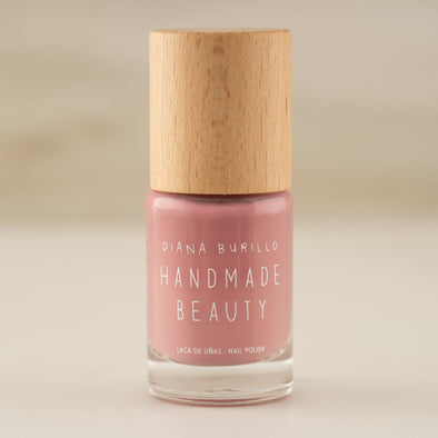 Nail Polish Non Toxic Color Almond - Handmade Beauty