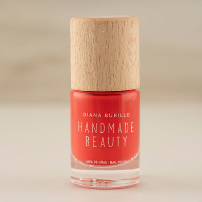 Handmade Beauty Toxic Free Nail Polish, Color Apricot - HANDMADEBEAUTY