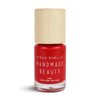 Handmade Beauty Toxic Free Nail Polish, Color Apricot - HANDMADE BEAUTY COSMETICS LLC