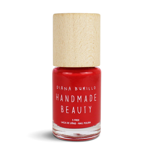 Nail Polish Non Toxic Color Apricot - Handmade Beauty