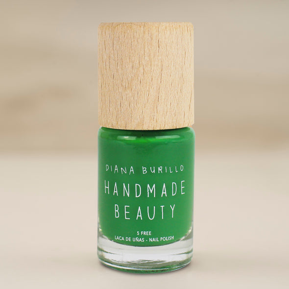 Nail Polish Non Toxic Color Avocado - Handmade Beauty