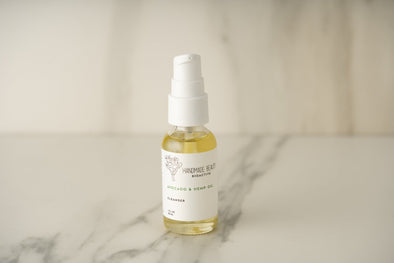 Handmade Beauty Avocado & Hemp Oil Cleanser  1 OZ (30 ML) - HANDMADEBEAUTY