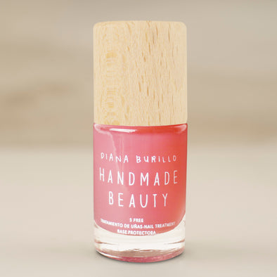 Handmade Beauty Toxic Free, Nail Polish Crystal Basecoat - HANDMADE BEAUTY COSMETICS LLC