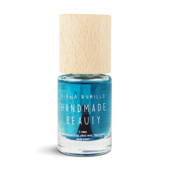 Nail Polish Non Toxic Seaweed Basecoat Concentrate  (Water) - Handmade Beauty