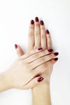 Handmade Beauty Toxic Free Nail Polish, Color Beet. - HANDMADE BEAUTY COSMETICS LLC