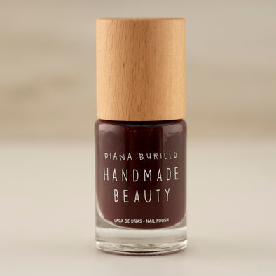Handmade Beauty Toxic Free Nail Polish, Color Beet. - HANDMADEBEAUTY