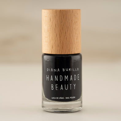 Handmade Beauty Toxic Free Nail Polish Color Blackberry - HANDMADEBEAUTY