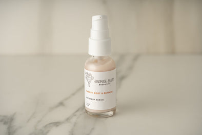 Carrot Root & Retinol Recovery Serum 1 oz (30 ML) - Handmade Beauty