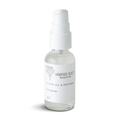 Citrus Oil & Peptides Eye Serum 1 oz (30 ML) - Handmade Beauty