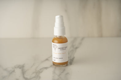 Handmade Beauty Citrus Stem Cells Collagen Serum 1 oz (30 ML) - HANDMADEBEAUTY