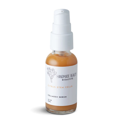 Citrus Stem Cells Collagen Serum 1 oz (30 ML) - Handmade Beauty