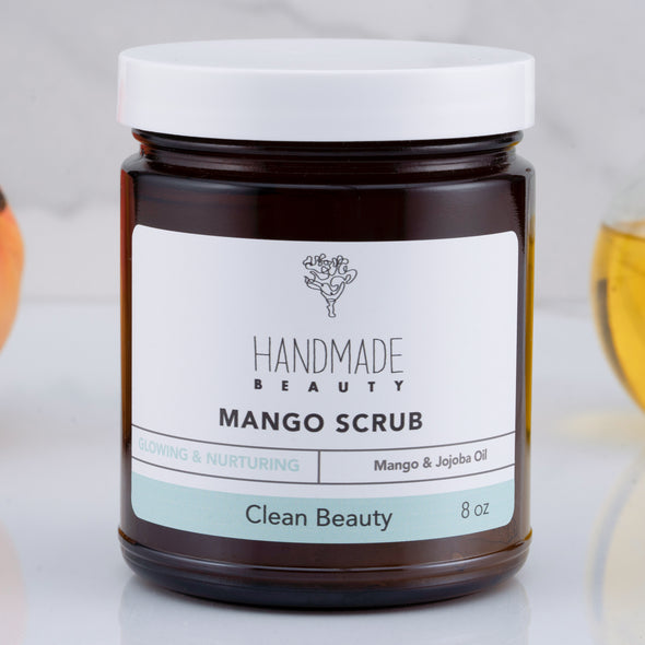 Exfoliante de Mango 8 oz - Handmade Beauty